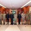 قائد الحرس الأميري القطري يزور الحرس الملكي السعودي