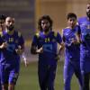 بالصور:النصر يبدأ الاستعادا لمباراة الشباب