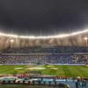 بالفيديو..فوضى عارمة جماهيرية في ديربي الرياض