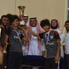 اختتام بطولة 2030 لكرة القدم بثانوية طارق بن زياد لطلاب جامعة الملك فيصل قسم التربية البدنية