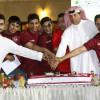 إدارة الفيصلي تكرم فريق شباب النادي لتنس الطاولة