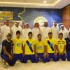بالصور : وفد من مؤسسة اسباير زون يزور نادي النصر ويبحث سبل التعاون بين الجانبين