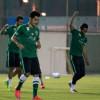 بالصور : الأخضر يواصل تدريباته في معسكر الرياض إستعداداً لأستراليا