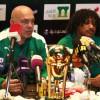 صور المؤتمر الصحفي لمدرب الاهلي غروس للحديث عن نهائي كأس الملك
