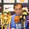 صور المؤتمر الصحفي لمدرب الهلال دياز للحديث عن نهائي كأس الملك