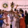 السنيد يتوج الميدان بكأس هيئة الرياضة في مباراة الافتتاح