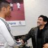 مارادونا : كنت أتمنى رونالدو أرجنتينيا