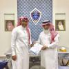 الفيحاء يوقع عقداً مع شركة للإحتراف كمستشار قانوني للنادي