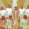 إدارة هجر واعضاء شرفه يزورون الشيخ سليمان الحماد