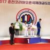 الشخص يخطف فضية دولية التايكوندو في كوريا