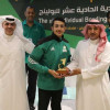 الشاب عبدالرحمن الخليوي يتوج بلقب البطولة الحادية عشرة