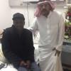 رئيس مجلس إدارة جمعية أصدقاء اللاعبين يشكر الأمير متعب بن عبدالله على تكفله بعلاج مصطفى ادريس