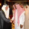 أمير تبوك يستقبل نجوم الكرة السعودية السابقين والاعلاميين
