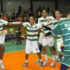 اخضر الطائرة يتصدر مجموعته في البطولة العربية