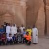 نادي الجوف يختتم رحلة الأبطال بزيارة محافظة الوجه