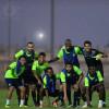بالصور : النصر يجري أول تدريب له بمصر بعد وصوله للمشاركة بالبطولة العربية