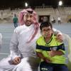 """بالصور : الامير فهد بن خالد يستدعي صديقه """"الوليد"""""""