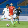الاخضر الاولمبي يتفوق على البحرين بثلاثية لهدف