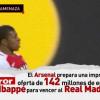 آرسنال يوجه صدمة لريال مدريد