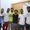 تجمع أعضاء الفريق الأول لكرة القدم بنادي الفيحاء