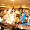 بالصور : الأمير فهد بن سلطان يسلم كأس دورة تبوك للاتفاق بعد فوزه على الصفاقسي التونسي