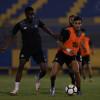 بالصور: النصر يواصل استعداداته للفيصلي بتمارين تكتيكية