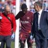 برشلونة يكشف عن تفاصيل إصابة ديمبيلي