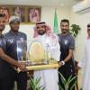 لاعبو هجر يشاركون مستشفى الولادة احتفال اليوم الوطني