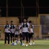 جمل تكتيكية ومناورة كروية في مران النصر والرئيس يجتمع بالمدرب واللاعبين