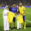 برنامج نجمي يحقق أمنية إبني الشهيد عبدالرحمن بن سعيد الشهري في ديربي الرياض