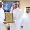 زيارة الشيخ ماجد الجميح لمقر نادي الثقبة