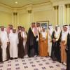 أمير المدينة المنورة يستقبل رئيس نادي أحد و أعضاء شرفه