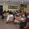 طلاب هديب يتدربون على القيادة في المجتمع