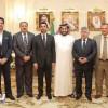 آل الشيخ يستقبل وزير الشباب والرياضة العراقي