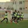 النصر يواصل استعداد على ملعب اكاديمية النصر الرياضية للفئات السنية