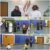 رئيس قسم التربية البدنية بالجامعة يزور إبتدائية الامير محمد بن فهد بالهفوف