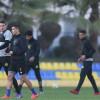 بالصور:النصر يواصل تدريباته على ملعب اكاديمية الفئات السنية