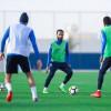 الهلال يؤدي مرانه الرئيسي للقادسية بمشاركة ثنائي المنتخب الاولمبي