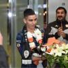 الليبي مؤيد اللافي يصل للتوقيع مع الشباب