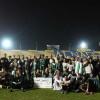 بالصور : النصر يستأنف تدريباته و وفد من ثانوية أبحر يزور النادي