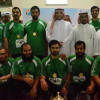 إنطلاق تحديات النسخة الثالثة لبطولة كرة المعلمين بالخرج بنادي الحي بثانوية الإمام البخاري