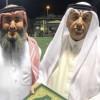 الجاسم يكرم السليم رئيس نادي الحي بمدسة الامير محمد بن فهد بن جلوي بالعيون