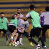 النصر يواصل تدريباته والمالك يلتقي بمدرب الفريق واللاعبين