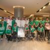 وصول أبطال منتخب ذوي الاحتياجات بعد مشاركتهم في بطولة فزاع الدولية لألعاب القوى