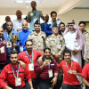 الحمالي يتوّج أبطال ألعاب القوى والبلياردو في بطولة شهداء الواجب