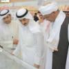 الشيخ ثامر الجابر الصباح في زيارة لمعرض الكتاب الدولي