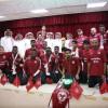 إستقبال بعثة الفيصلي أبطال الدوري الأولمبي