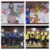 خالد القروني مدرب نادي الشباب يتوج فريق الغربي ببطولة معالي تركي آل الشيخ