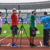 الروضـان يدشن مشاركة أخضر السهام في بطولة العالم