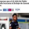 غويدي يطالب الأهلي بمدافع تشيلي